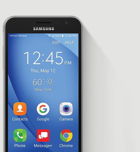 Samsung Galaxy J3 (2016) J320V Verizon (4G, 8GB, Black)