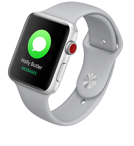 new concept e55e4 62185 Apple® Watch Series 3 Aluminum 42mm Case - Sport Band