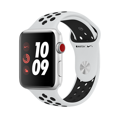 new style 18652 c6bce Apple® Watch Series 3 Nike+ Aluminum 42mm Case with Sport Band