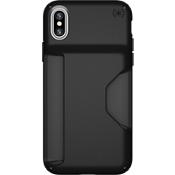 Presidio Wallet for iPhone X - Black/Black