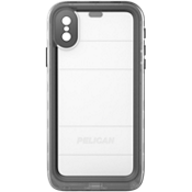 Marine Case for iPhone X - Black/Clear