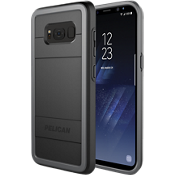 Protector Case for Galaxy S8+ - Black / Light Grey