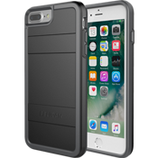 Protector Case for iPhone 8 Plus/7 Plus/6s Plus/6 Plus - Black/Light Grey