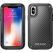 Shield for iPhone X - Black/Black