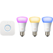 Hue White & Color Ambiance A19 Starter kit - Gen 3