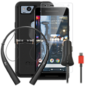 OtterBox Defender Power, Protection & Headset Bundle for Pixel 2