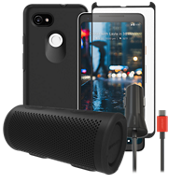 OtterBox Symmetry Power, Protection & Stereo Bundle for Pixel 2 XL