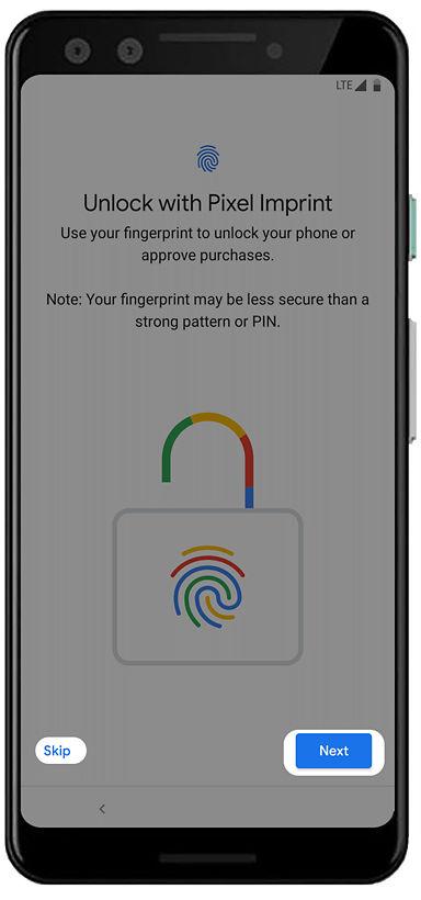 Google Pixel 3 setup guide
