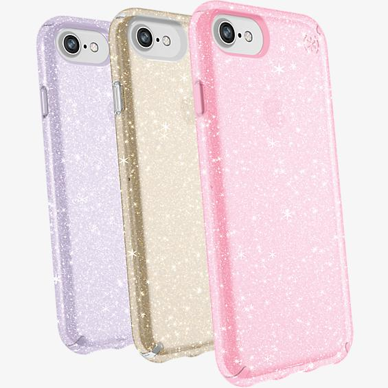 Presidio Clear + Glitter Case Giftset for iPhone 8/7/6s/6