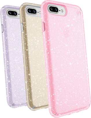 8a655445d32 Speck Presidio Clear + Glitter Case Giftset for iPhone 8 Plus 7 Plus ...