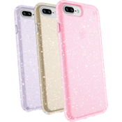Presidio Clear + Glitter Case Giftset for iPhone 8 Plus/7 Plus/6s Plus/6 Plus - Multi