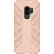 Presidio Grip + Glitter Case for Galaxy S9+ - Bella Pink with Gold Glitter/Dahlia Peach