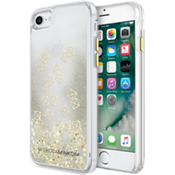 Glitterfall Case for iPhone 7 - Gold Studs