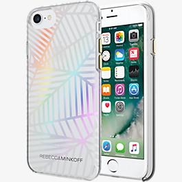 Sheer Protection Case for iPhone 7 - Geometric Wall Clear/Holographic Foil