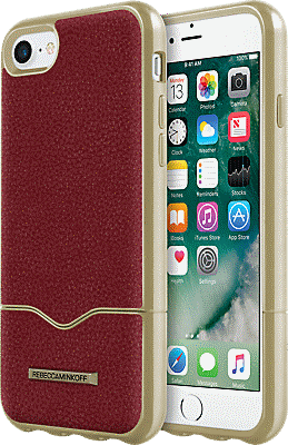 iphone 7 case red leather