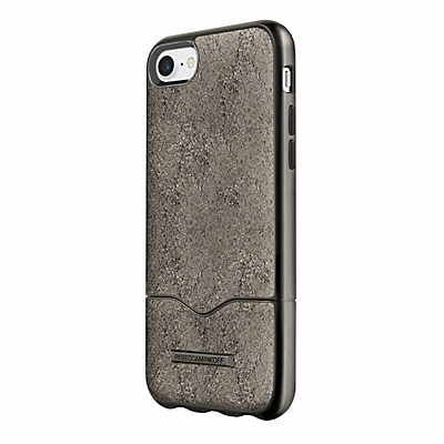 uk availability ddaae 3b6c9 Rebecca Minkoff Slider Case for iPhone 7 - Cracked Leather Anthracite