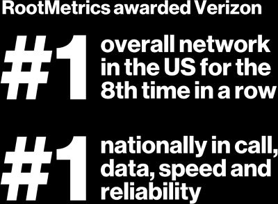 #1 overall network in the US for the 8th time in a row