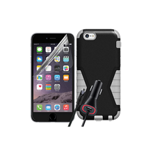 Rugged Bundle for Apple iPhone 6 Plus/6s Plus - Black