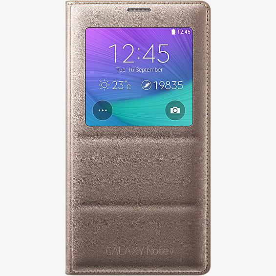 S-View Flip Cover for Samsung Galaxy Note 4