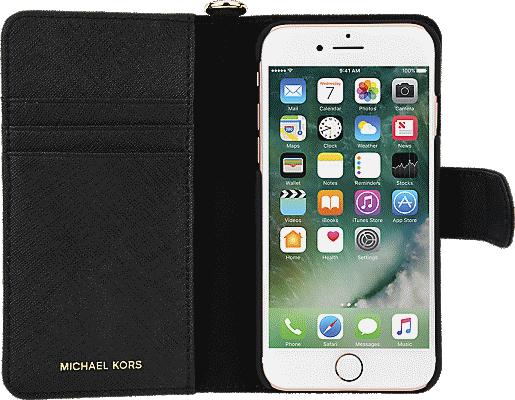 hot sales 9f28c e9598 Saffiano Leather Folio Case for iPhone 8/7