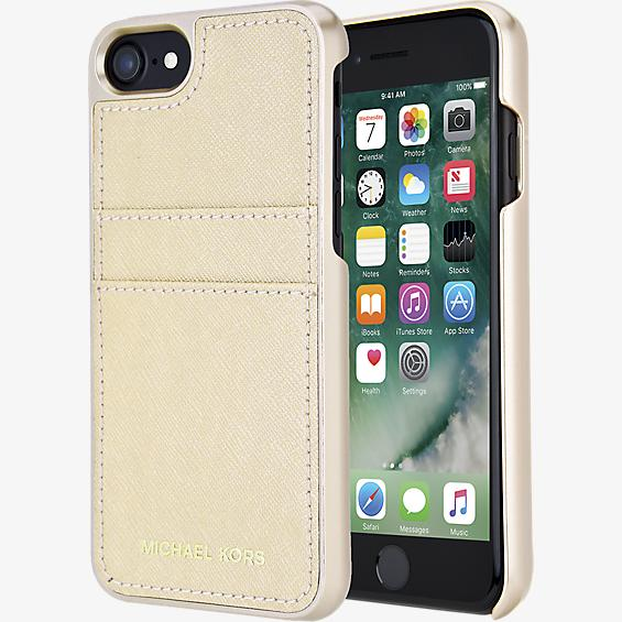 Saffiano Leather Pocket Case for iPhone 7