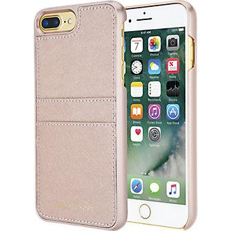 michael kors saffiano leather pocket case for iphone 7. Black Bedroom Furniture Sets. Home Design Ideas