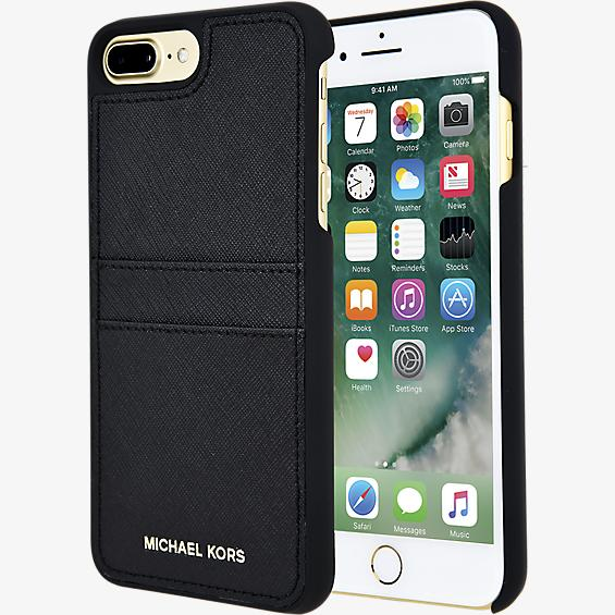 Saffiano Leather Pocket Case for iPhone 7 Plus
