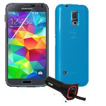 Essentials Travel Bundle for Samsung Galaxy S 5
