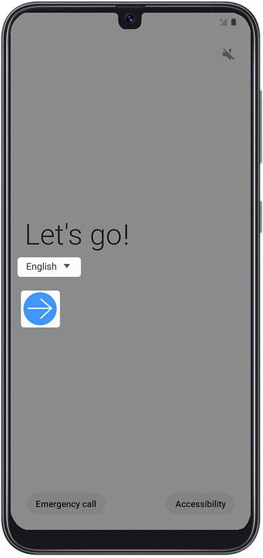 Samsung Galaxy A50 setup guide