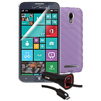 Essential Travel Bundle for Samsung ATIV SE - Purple