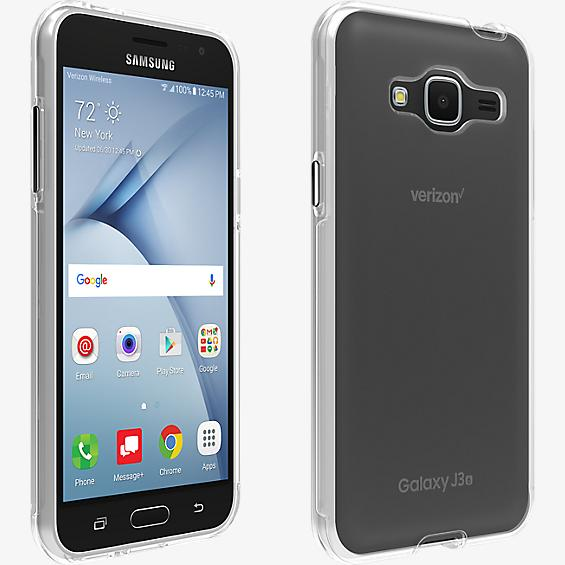 Shell Case for Galaxy J3 V - Clear