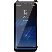 Curved Tempered Glass Screen Protector for Galaxy S8 - Black