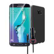 Silicone Cover Bundle for Samsung Galaxy S 6 edge+