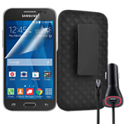 Shell Holster Bundle for Samsung Galaxy Core Prime