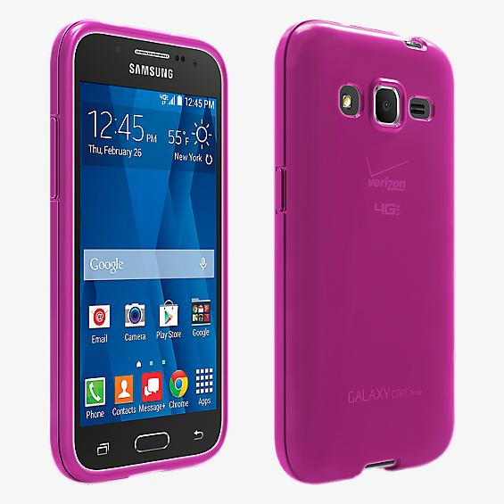 High Gloss Silicone Cover for Samsung Galaxy Core Prime
