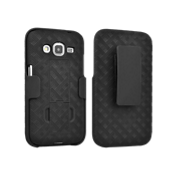 Shell Holster Combo with Kickstand for Samsung Galaxy Core Prime