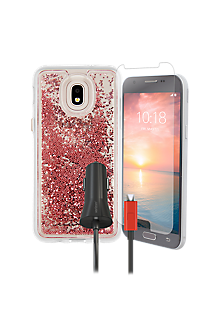 separation shoes 80bdc 9ace6 Case-Mate Waterfall, Protection and Charging Bundle for Galaxy 3rd Gen  J3/J3 V