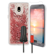 Case-Mate Waterfall, Protection and Charging Bundle for Galaxy 3rd Gen J3/J3 V
