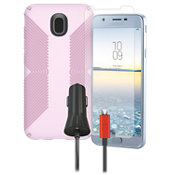 Presido Grip, Charging and Prootection Bundle for Galaxy 2nd Gen J7/J7 V
