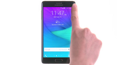 How to Use the Edge Screen on Your Samsung Galaxy Note® Edge