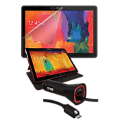 Premium Travel Bundle for Galaxy Note 10.1 2014 - Red