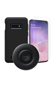 official photos b0f38 4c5b6 OtterBox Symmetry Case, Protection & Wireless Charging Bundle for Galaxy  S10e