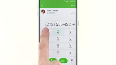 Making Calls on Your Samsung Galaxy S® 6 edge