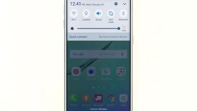 Customizing Lock Screen Settings on Your Samsung Galaxy S® 6 edge