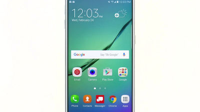 Navigating Your Samsung Galaxy S® 6 edge