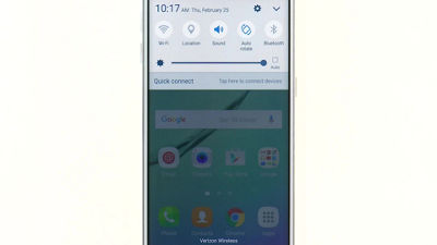 Power Saving Mode on Your Samsung Galaxy S® 6 edge