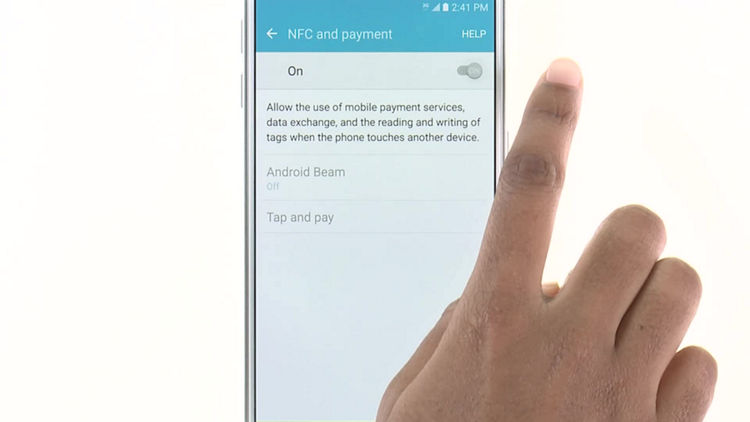 How To Use Nfc Near Field Communications On Your Samsung Galaxy S