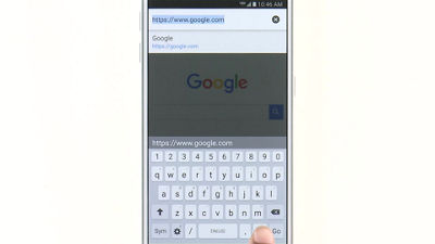 Browsing the Web on Your Samsung Galaxy S® 6