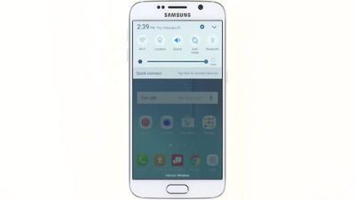 Setting Up Wi-Fi & Bluetooth® on Your Samsung Galaxy S® 6