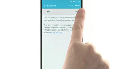 Configurar el Bluetooth en tu Samsung Galaxy S7 de Verizon